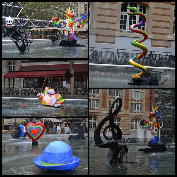 Montage Fontaine Beaubourg