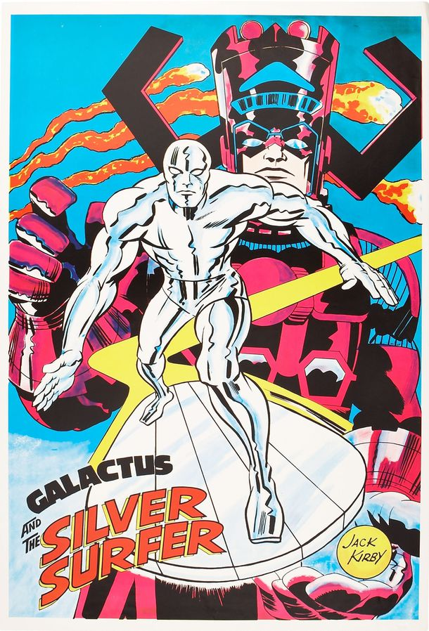Surfer and Galactus poster undated