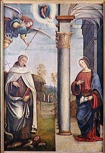 Francia, Francesco Raibolini-Saint Albert écrasant un dém