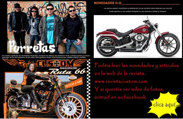 Concentraciones motos custom