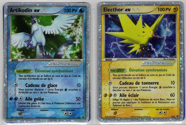 cartes pokemon ex x