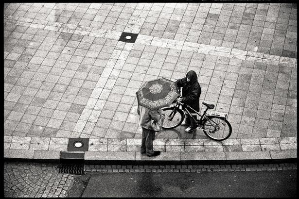 DMF parapluie et vélo