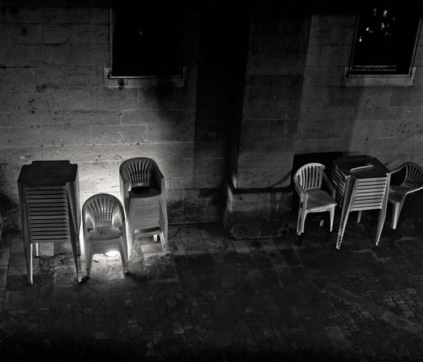 De ma fenêtre chaises