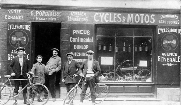 magasin moto Pomadère945