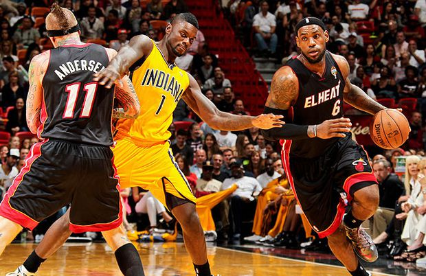 best service 784de 2e312 NBA playoffs  Miami Heat vs. Indiana Pacers preview