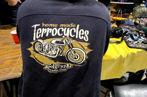 Terrocycles t shirt