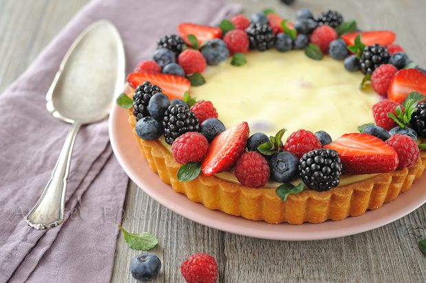 Tarte cheesecake et fruits rouges (14)