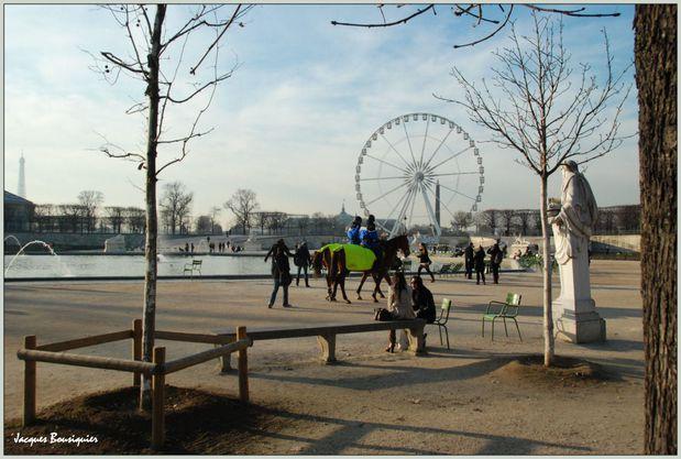 Paris Jardin des Tuileries 1