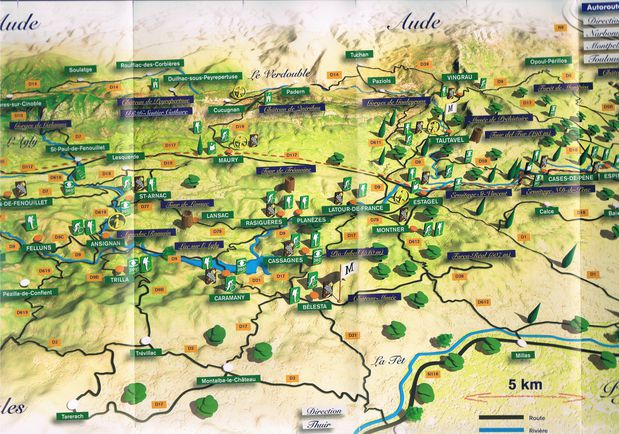 carte la vallee de l'agly 2011 b