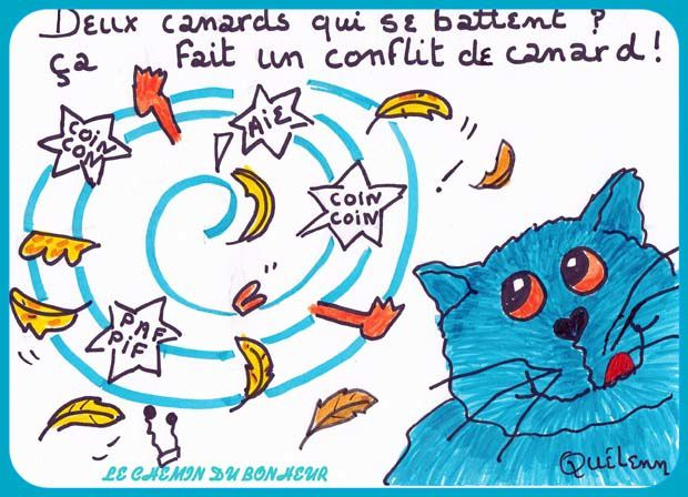 Dessin de chat humour - 2