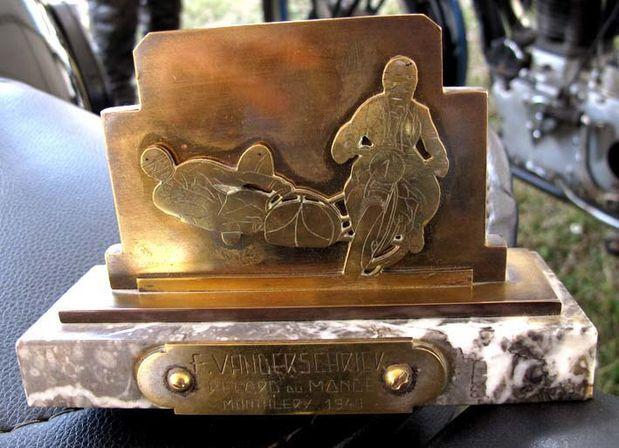Campion trophée Vanderschrick