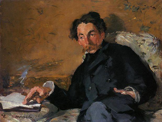 Manet Portrait de Stéphane Mallarmé