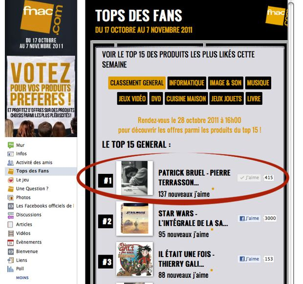 fnac top fan