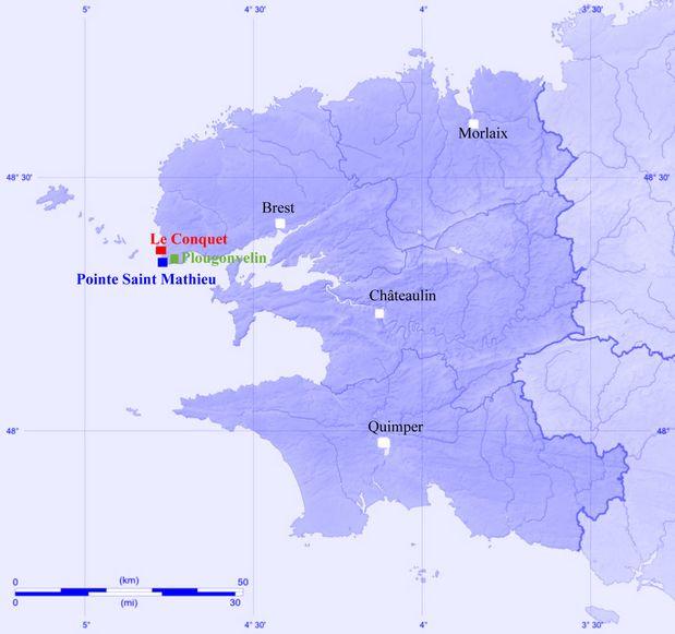 Carte Finistère(02)