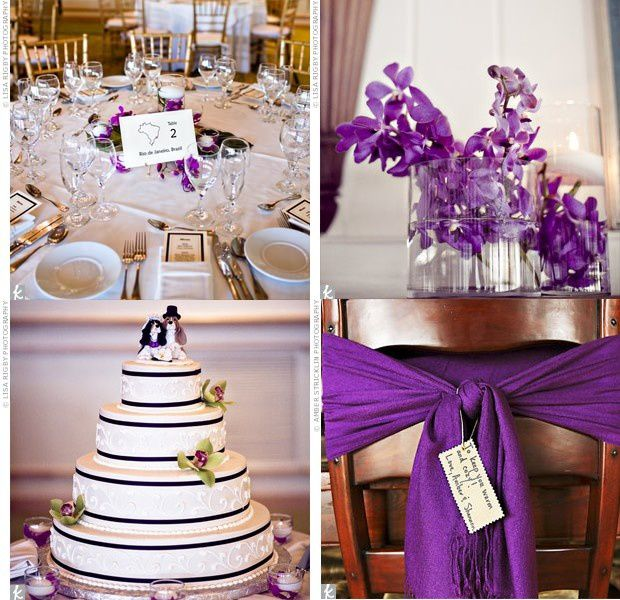 Redirecting to - Deco mariage violet ...