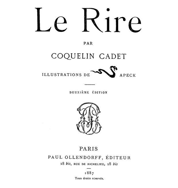Le Rire Coquelin Cadet Sapeck-2