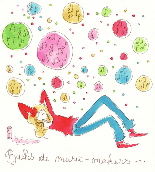 bulles de music makers