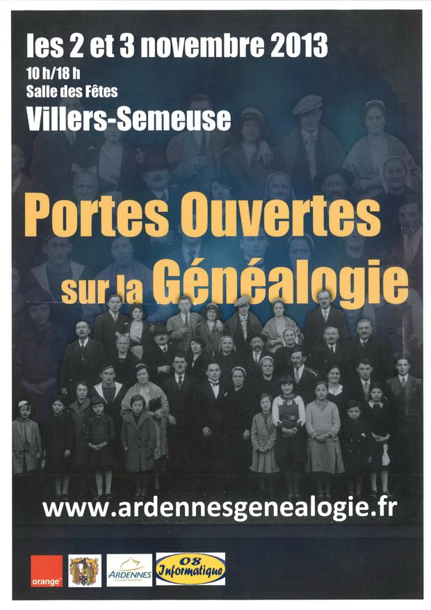 Genealogie 2-3 nov 13