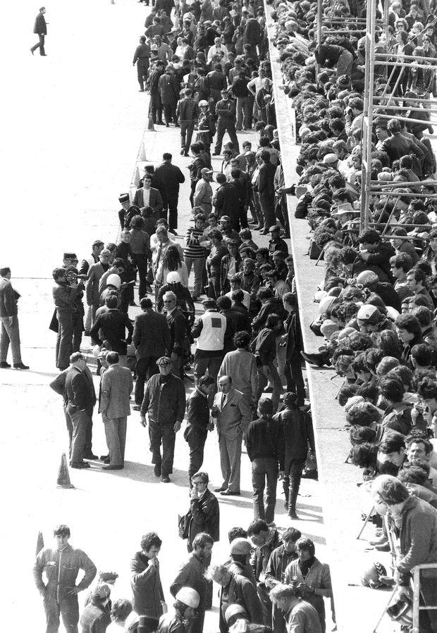 1969 Stands départ