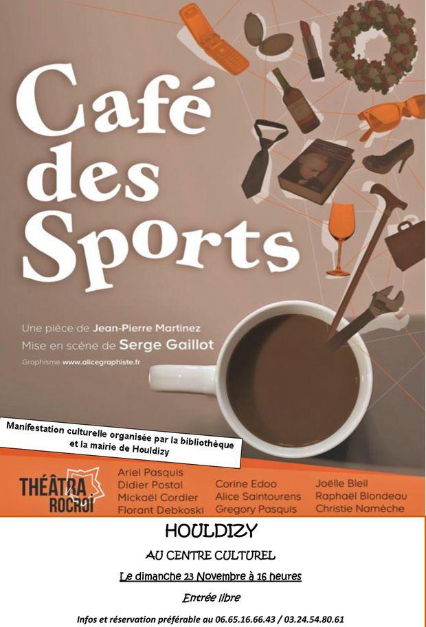 Affiche café des sports
