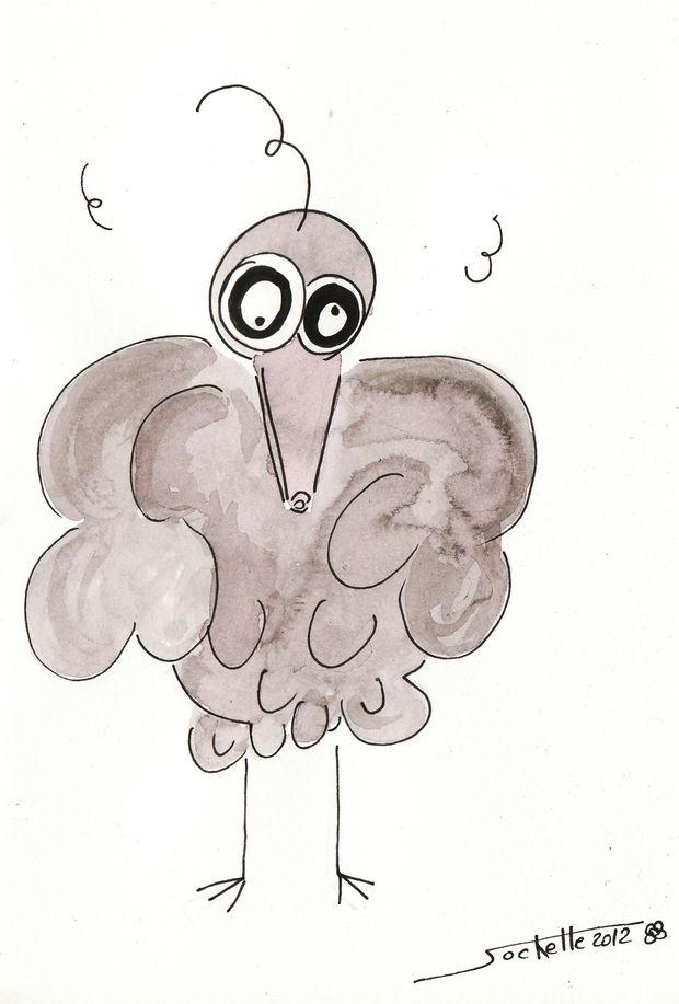 wilfried et théo - oiseau théo