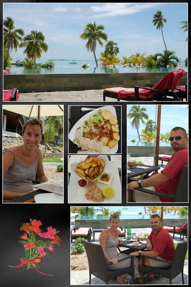 Week end en amoureux les rousseau a tahiti for Week end avec piscine privee