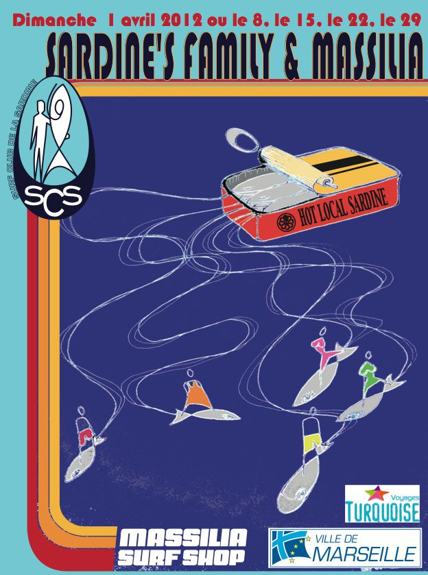 affiche sardine family 2012
