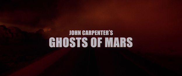 Ghosts of Mars - générique