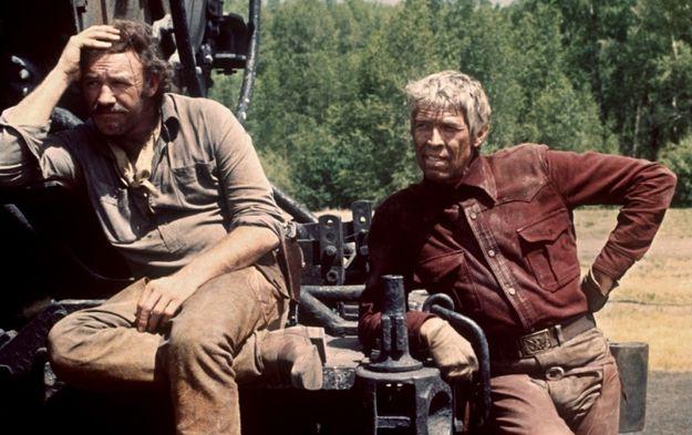 La chevauchée sauvage - Gene Hackman & James Coburn