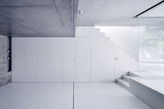House in kaijin japan by fuse atelier arc street for Minimalist japanese lifestyle