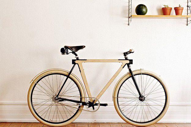 wood b handmade wooden bike by bsg bikes thierry boltz claude saos france. Black Bedroom Furniture Sets. Home Design Ideas