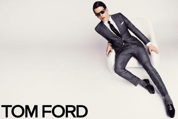 Tom Ford Spring 2013 Ad Campaign With Karlina Caune