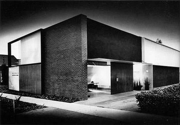 William s beckett architecture office in los angeles for Architecture 1950
