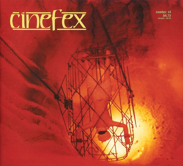 Indiana Jones et le temple maudit - Cinefex d'août 1984