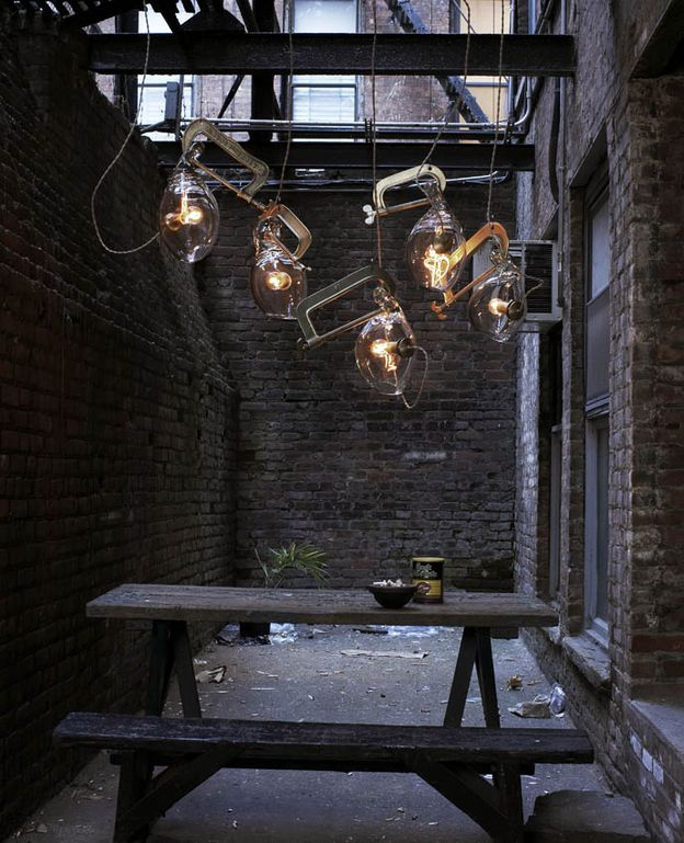 industrial design lighting. Lindsey-Adelman-Clamp-light-design--New-York-indus Industrial Design Lighting