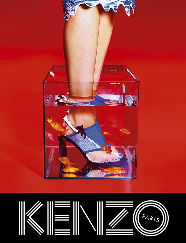 kenzo spring summer 2014 ad campaign by toiletpaper team carol lim humberto leon arc. Black Bedroom Furniture Sets. Home Design Ideas