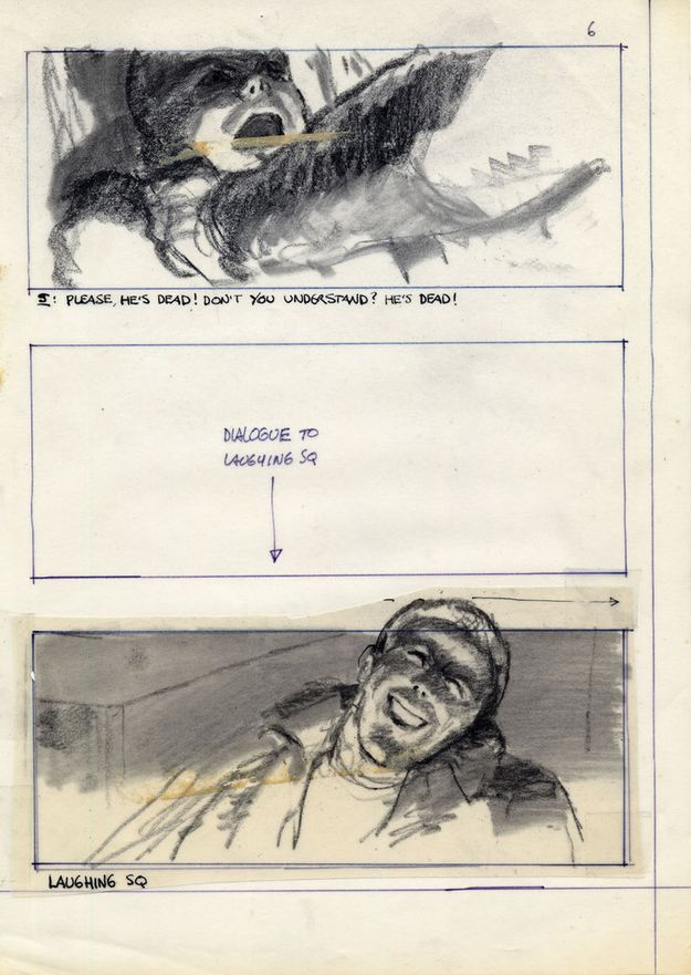 Blade runner - storyboard 5