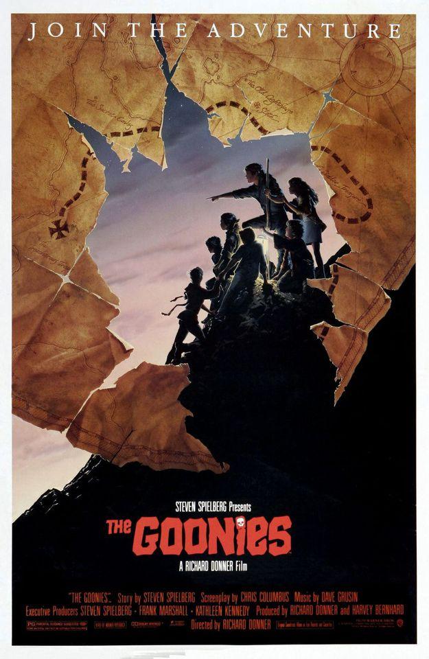 Les Goonies - affiche