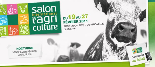 Salon de l 39 agriculture for Billet salon de l agriculture