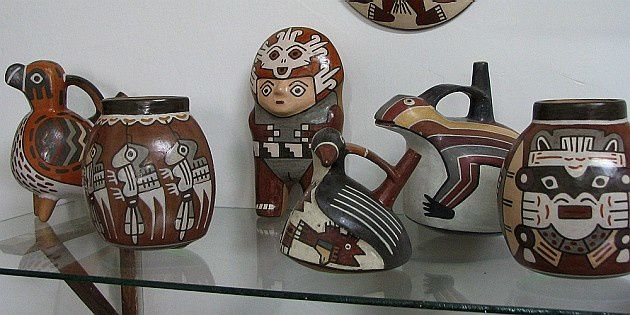 c&#xE9;ramiques de Nazca