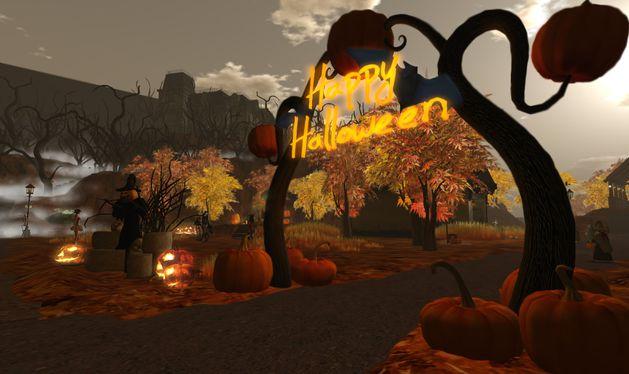 pumpkin town happy halloween 1