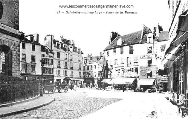 Rue de la paroisse à Saint-Germain-en-Laye
