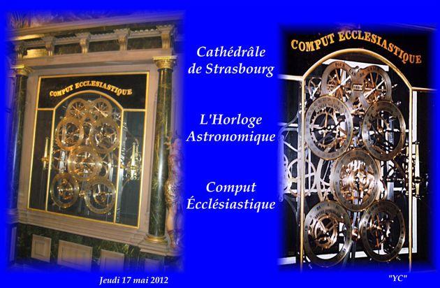 COMPUT ÉCCLÉSIASTIQUE . CATHÉDRÂLE DE STRASBOURG