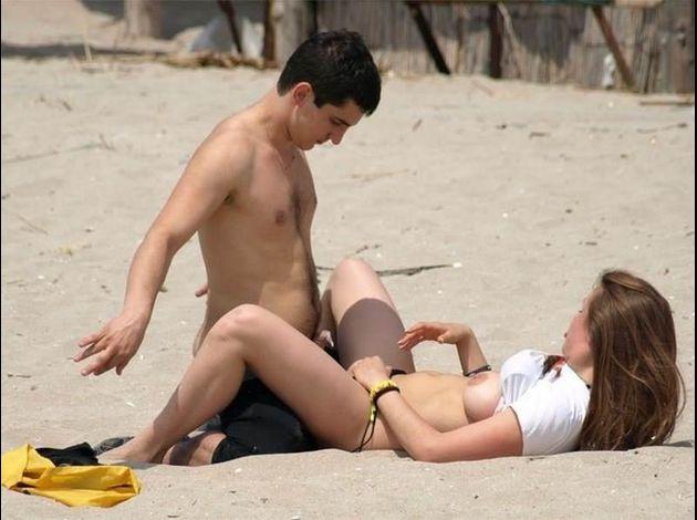 scène de sexe sexe à la plage