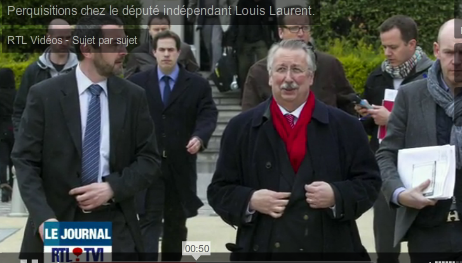 LAURENT LOUIS PERQUISITIONNE + FLAHAUT