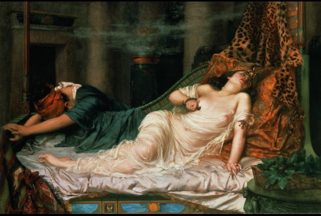 Cleopatra The Death of  Reginald Arthur 1892 Wikipedia