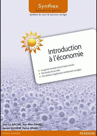« Introduction à l'économie » de  Jean-Luc Biacabe, Jea
