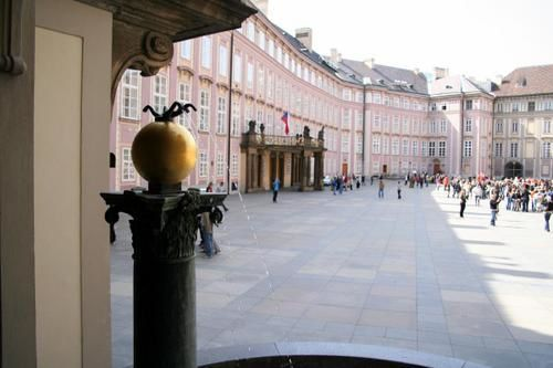 Cour du Chteau de Prague