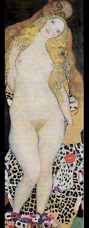 Adam et Eve   1917  1918  (inachevé)