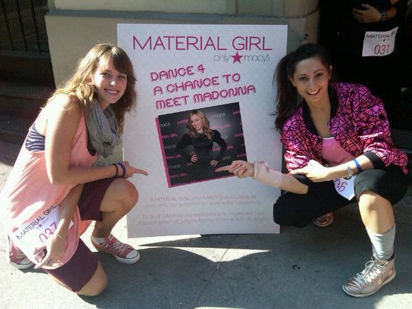 Madonna Dance Audition for Material Girl in NY 20100826 01